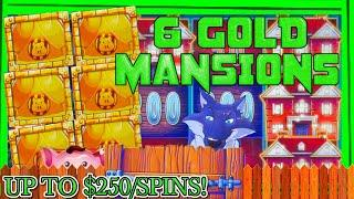 HIGH LIMIT Lock It Link Huff N' Puff MASSIVE HANDPAY JACKPOT  $50 Bonus Slot Machine EPIC COMEBACK