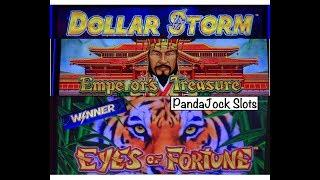 Dollar Storm and Lightning Link️Eyes of Fortune and Emperor's Treasure