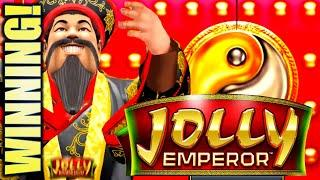 GOOD FORTUNE TO YOU!! JOLLY EMPEROR (REGAL ROMANCE) Slot Machine Bonus Win (IT)