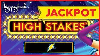 JACKPOT HANDPAY! Lightning Link High Stakes Slot - UP TO $50 BETS, CRAZY!!!
