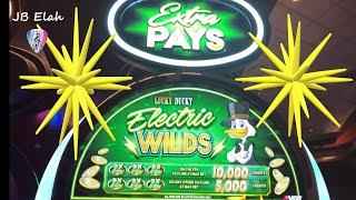 VGT Slots POLAR HIGH ROLLER & LUCKY DUCKY ELECTRIC WILDS Hand Pay High Limits JB Elah Slots Choctaw