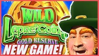 NEW GAME - WILD LEPRE'COINS GOLD RESERVE  LIVE PLAY + SLOT BONUS WINS   Slot Traveler