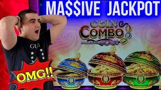 MEGA HANDPAY JACKPOT On Coin Combo Slot | Winning Mega Bucks At Casino | SE-4 | EP-22