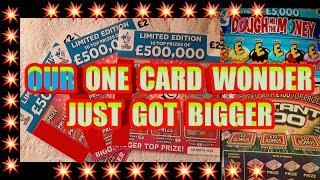 3 Card Wonder or..Will it be a 4..or 5..or 6..or 7...or 8..9 Scratchcard  or even more??  mmmmmmMMM