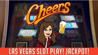 Double Top Dollar Slot Machine - High Limit FUN BAGS $17.60 BET, Handpay JACKPOT - Aria Las Vegas