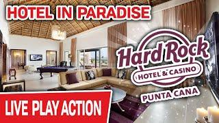 Hotel in PARADISE  Come See the Room They Give To HIGH-ROLLERS at Hard Rock Punta Cana