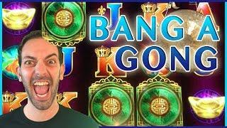High Limit BANG a GONG with BRIAN   Slot Machine Pokies w Brian Christopher