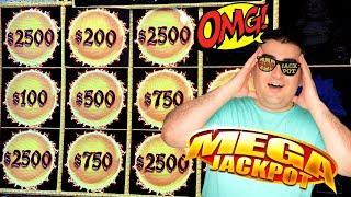 Rare MASSIVE HANDPAY JACKPOT On High Limit Dragon Link Slot ! Winning Mega Bucks At Casino