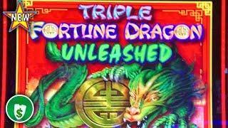 ️ New - Triple Fortune Dragon Unleashed WA VLT slot machine, bonus