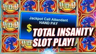 RAINING WILDS & DRAGON SPIN JACKPOT WIN  $40 HIGH LIMIT BETS  ALL BONUSES GAMES