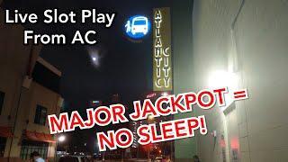 Live MAJOR Jackpot Handpay + Gold Spin on Wheel of Fortune!  #TeamNoSleepAC - Live Slots