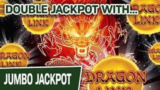 DOUBLE DRAGON LINK JACKPOT  Me Vs. Genghis Khan - I WIN!