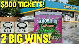 CRUSHED IT! **FULL PACK** NEW $20 $1,000,000 Extreme Cash  TEXAS LOTTERY Scratch Off Tickets