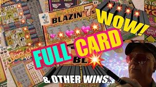 •Wow!•FULL SCRATCHCARD.•Wow!.•and More.••️Its a Cracking game tonight..•Boy'O'Boy.•