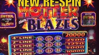 Hotter Blazes-Re-SpinSlot Play/Live Play