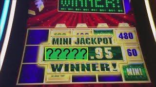 BIGGEST MINI JACKPOT EVER! GOLD BONANZA & THUNDER CASH SLOT MACHINES!