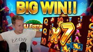 BIG WIN!!!! FU FORTUNES BIG WIN - Casino games from Casinodaddys live stream