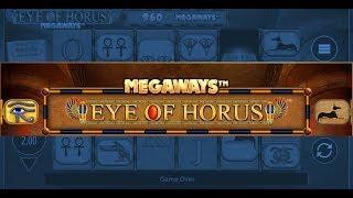 EYE OF HORUS MEGAWAYS (BLUEPRINT GAMING) ONLINE SLOT