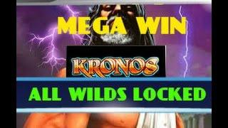 KRONOS (WMS) PART 3 OF 3  NICE MEGA WIN - WILDS GALORE