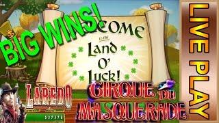 Leprechaun's Gold BIG WIN Live Play