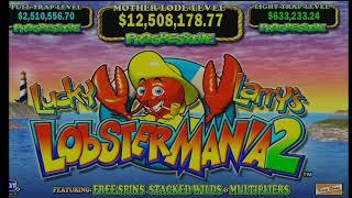 Lobstermania 2 High Limit Slot Play