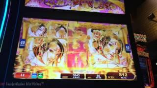 Phoenix Princess Slot Machine Bonus Win - Konami