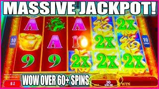 I CAN'T BLIEVE I HIT THIS MASSIVE JACKPOT! HIGH LIMIT SLOT MACHINE