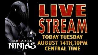 VGT SLOTS - RED SCREEN NINJAS  BACK TO SCHOOL LIVE STREAM CHAT