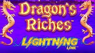 DRAGON RICHES Lightning Link Slot Machine Live Play & Bonuses | SE-3 | EP-25