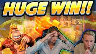 MEGA WIN!!! Return of Kong Megaways BIG WIN - Casino game from CasinoDaddy Live Stream