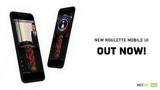 NetEnt Live - Mobile Roulette UI