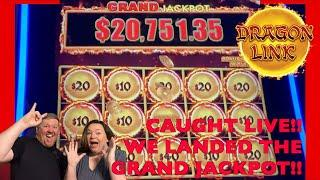 JACKPOT HANDPAY!! GRAND JACKPOT on Dragon Link  caught LIVE! #jackpothandpay  #grandjackpot