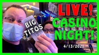LIVE SLOTS  PAYLINES SLOT CHANNEL LIVE AT THE CASINO  LET'S HOPE FOR THOSE JACKPOT WINS
