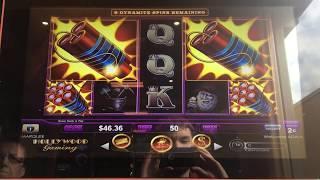 Play Lock It Link Eureka Reel Blast Slot Machine Bonus Dynamite Online Slots