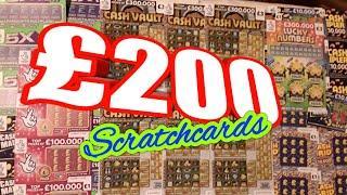 £200. SCRATCHCARDS...NOW FOR THE PRIZES....Here We GoooooOOO