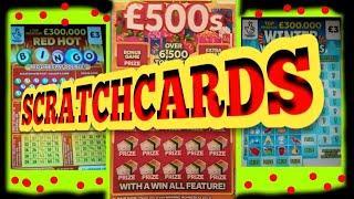 Wow.....SCRATCHCARDS..CASH DROP...WONDERLINES..FRUITY £500s..REDHOT BINGO
