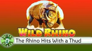 Wild Rhino slot machine bonus