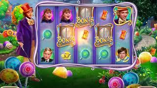 WILLY WONKA Video Slot Casino Game with a WONKA'S WORLD PICK BONUS