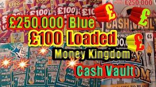 •Scratchcards•.Cash Vault•Money Kingdom•.£250,000 Blue•£100 Loaded•