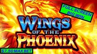 Wings Of The Phoenix Slot Machine Bonus - FULL SCREEN | W4 Tall Fortunes Wild Lepre'Coins Slot
