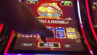 FUN!  DANCING DRUMS  BIG WIN BONUS VIDEO in LAS VEGAS  with SIZZLING SLOT MACHINE JACKPOTS
