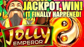 JACKPOT!! WOW! IT FINALLY HAPPENED! JOLLY EMPEROR Slot Machine (Incredible Technologies)