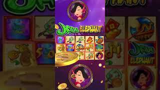 Jade Elephant - Jackpot Party Casino Slots - Portrait 22sec