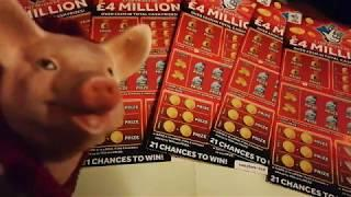 Wow!•9,300+ Special•£100,00 Scratchcards•£4 Million Big Daddies.lot•️£5 cards(build up video)•