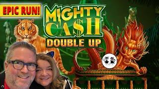 PREMIERE: EPIC RUN ON MIGHTY CASH DOUBLE UP!
