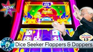 ️ New - Dice Seeker Flappers & Dappers Slot Machine Bonus