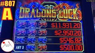 #807 Dragons Luck Slot  Road to Winner (on the way) Love 9 lines EVERI @ San Manuel Casino 赤富士スロット