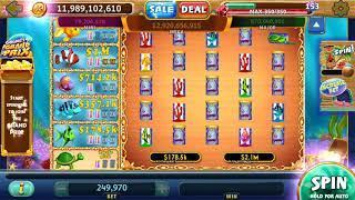 GOLD FISH Video Slot Casino Game with a FISH FOOD BONUS GAME