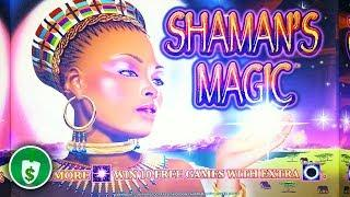 Shaman's Magic slot machine, bonus