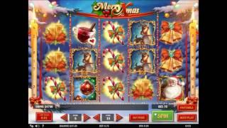 Merry Xmas slot by Play'n GO - Gameplay